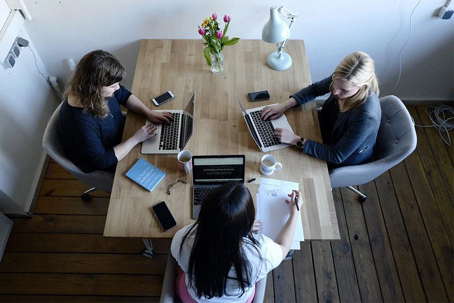 Coworking et travail collaboratif